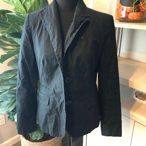 Gap two button black blazer